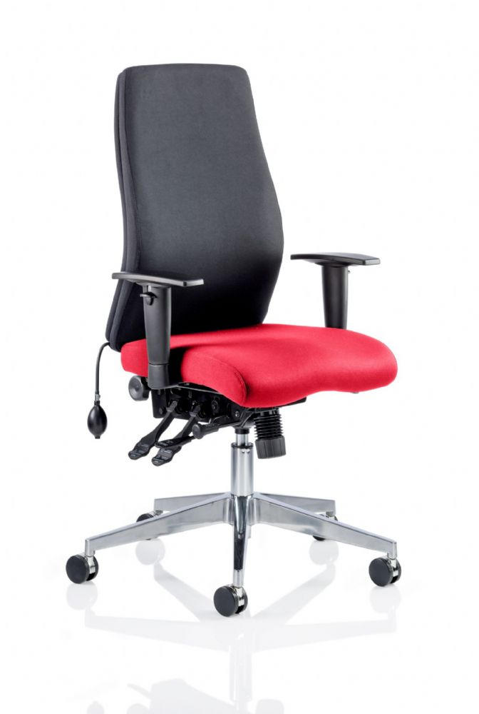 Onyx Posture Office Chair Arms Task Multi-Functional Fully Upholstered